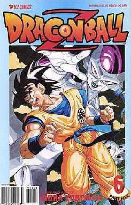 Dragon ball z comic books