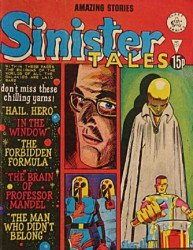 Alan Class & Company's Sinister Tales Issue # 151