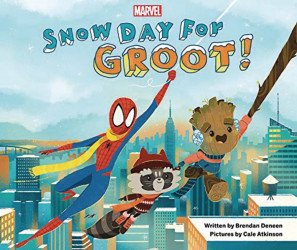 Marvel Press 's Snow Day for Groot Hard Cover # 1