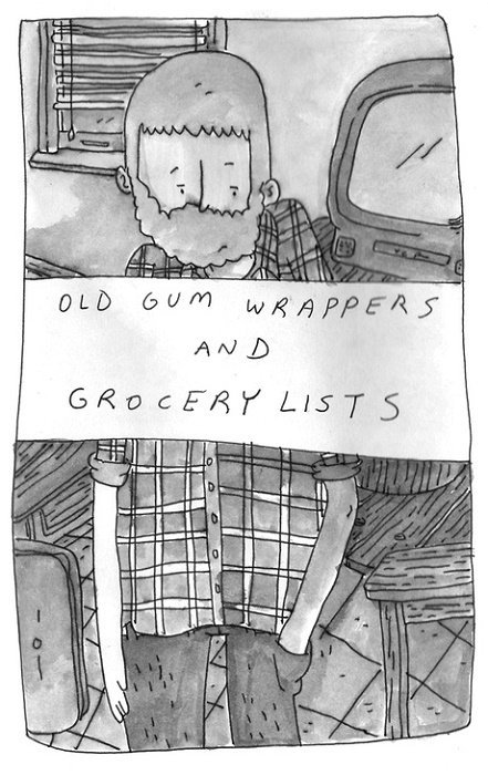 Old Gum Wrappers And Grocery Lists Soft Cover 1 Kevin Budnik