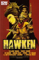 IDW Publishing's Hawken Issue # 3b