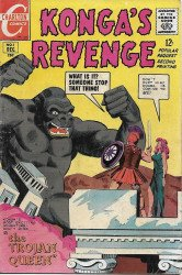 Charlton Comics's Konga's Revenge Issue # 3-2nd print