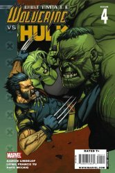 Ultimate Marvel's Ultimate Wolverine vs Hulk Issue # 4
