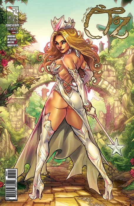 Zenescope takes us back to Oz one last time (Oz: Reign of the Witch ...: www.criticalblast.com/articles/2015/04/28/zenescope-takes-us-back...