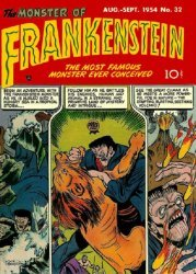 Prize Publications's Frankenstein  Issue # 32