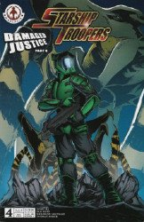 Markosia's Starship Troopers: Damaged Justice Issue # 4c