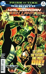 DC Comics's Hal Jordan and the Green Lantern Corps Issue # 21