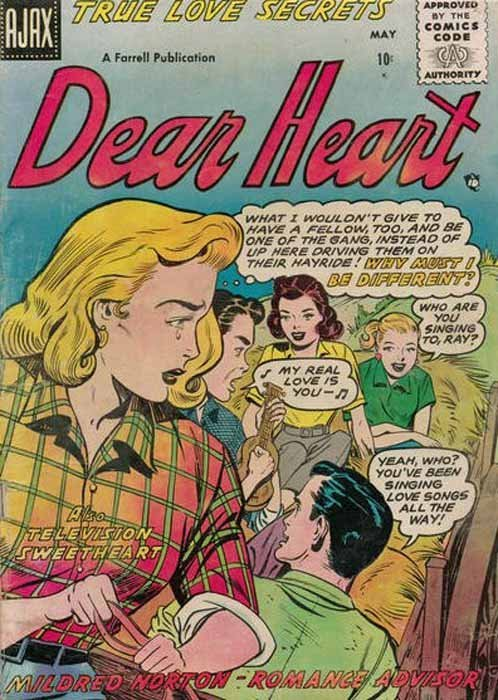 Dear Heart 15 (Ajax Comics) - ComicBookRealm.com