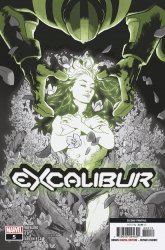 Marvel Comics's Excalibur Issue # 5 - 2nd print