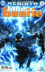 DC Comics's Blue Beetle Issue # 9b