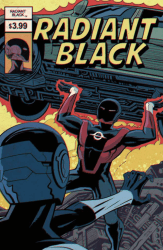 Image Comics's Radiant Black Issue # 2stadium