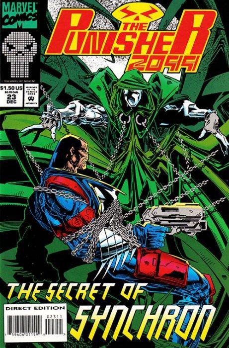Marvel Comicss Punisher 2099 Issue 23