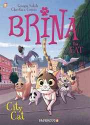 Papercutz's Brina The Cat:  Soft Cover # 2