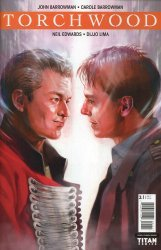 Titan Comics's Torchwood: The Culling Issue # 1