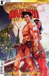 Dynamite Entertainment's John Carter: Warlord of Mars Issue # 1b