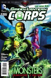 DC Comics's Green Lantern Corps Issue # 21