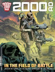 Rebellion's 2000 A.D. Issue # 2075