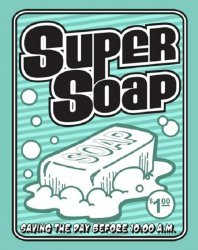 Eight Ball Graphics's Super Soap Issue # 1