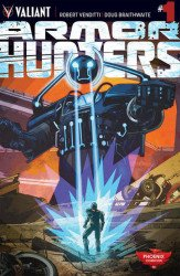 Valiant Entertainment's Armor Hunters Issue # 1pcc