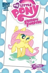 IDW Publishing's My Little Pony: Friends Forever Issue # 5jet pack-b