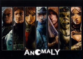 Anomaly Productions 's Anomaly Hard Cover # 1b