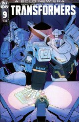 IDW Publishing's Transformers Issue # 9b