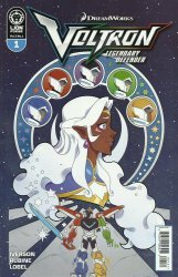 Lion Forge Comics's Voltron: Legendary Defender Issue # 1b