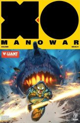 Valiant Entertainment's X-O Manowar Issue # 1valiant