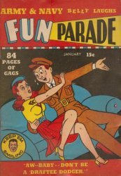 Harvey Publications's Army and Navy Fun Parade Issue V1-2