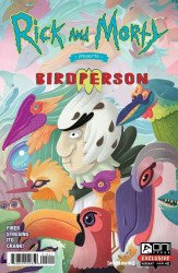 Oni Press's Rick and Morty Presents: Birdperson Issue # 1d