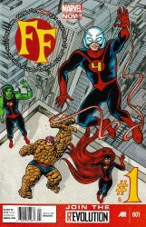 Marvel Comics's FF Issue # 1b