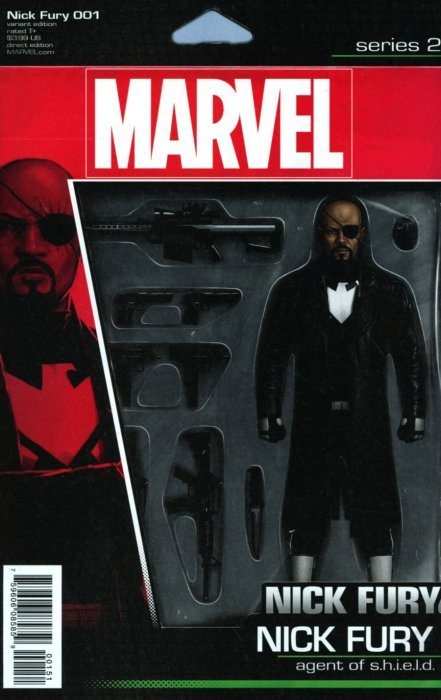 NICK FURY 1 JOHN TYLER CHRISTOPHER ACTION FIGURE VARIANT NM SHIELD
