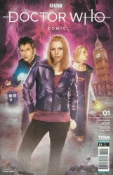 Titan Comics's Doctor Who Comic Issue # 1b