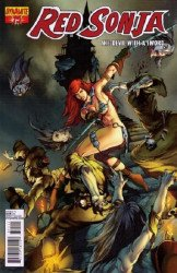 Dynamite Entertainment's Red Sonja Issue # 75