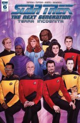 IDW Publishing's Star Trek: The Next Generation - Terra Incognita Issue # 6ri