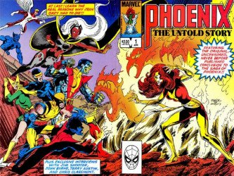 Marvel's Phoenix: The Untold Story Issue # 1