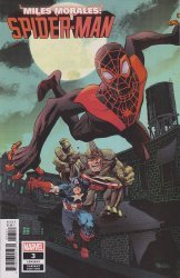 Marvel Comics's Miles Morales: Spider-Man Issue # 3b