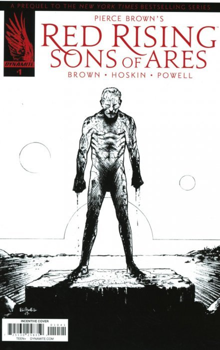 Pierce Browns Red Rising Sons Of Ares Hard Cover 1 Dynamite