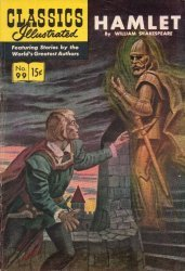 Gilberton Publications's Classics Illustrated #99: Hamlet Issue # 3