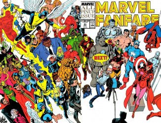 Marvel Comics's Marvel Fanfare Issue # 45