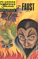 Gilberton Publications's Classics Illustrated #167 - Faust Issue # 1