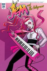 IDW Publishing's Jem and the Holograms Issue # 24ri