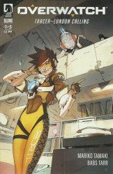 Dark Horse Comics's Overwatch: Tracer-London Calling Issue # 1