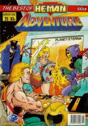 London Editions Magazines's He-Man Adventure Issue # 25