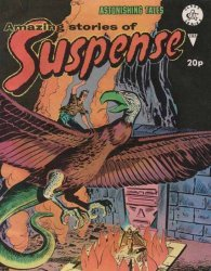 Alan Class & Company's Amazing Stories of Suspense Issue # 185