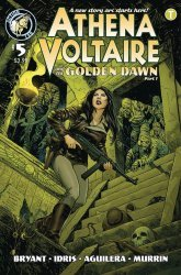 Action Lab Entertainment's Athena Voltaire and the Sorcerer Pope Issue # 5b
