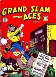 Anglo-American Publishing Co.'s Grand Slam: Three Aces Issue # 45