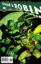 DC Comics's All-Star Batman and Robin the Boy Wonder Issue # 9