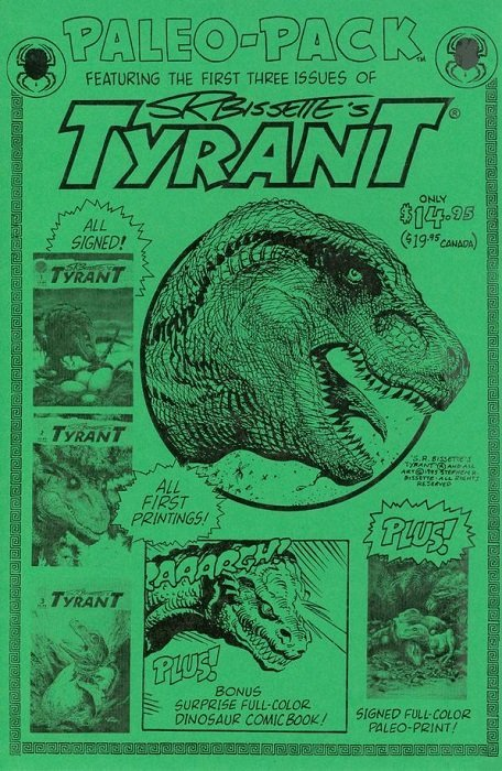 S r bissette 39 s tyrant soft cover 1 spiderbaby graphix - Spider graphix ...