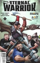 Valiant Entertainment's Wrath of the Eternal Warrior Issue # 1sky high